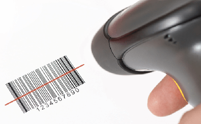 Barcode for materials